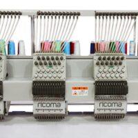 Багатоголові промислові вишивальні машини, серія FHT