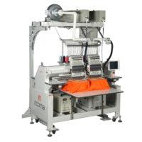 Двухголовые промышленные вышивальные машины, серия LC