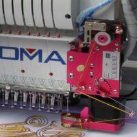 Устройство для вышивки шнуром