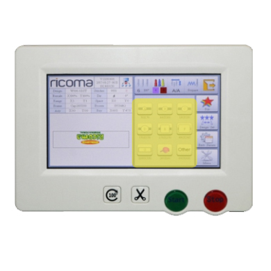 Ricoma RCM, дисплей