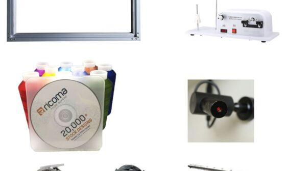 набір аксесуарів, подарунок до вишивальної машини