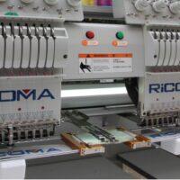Пристосування для вишивки на стрічках і ременях