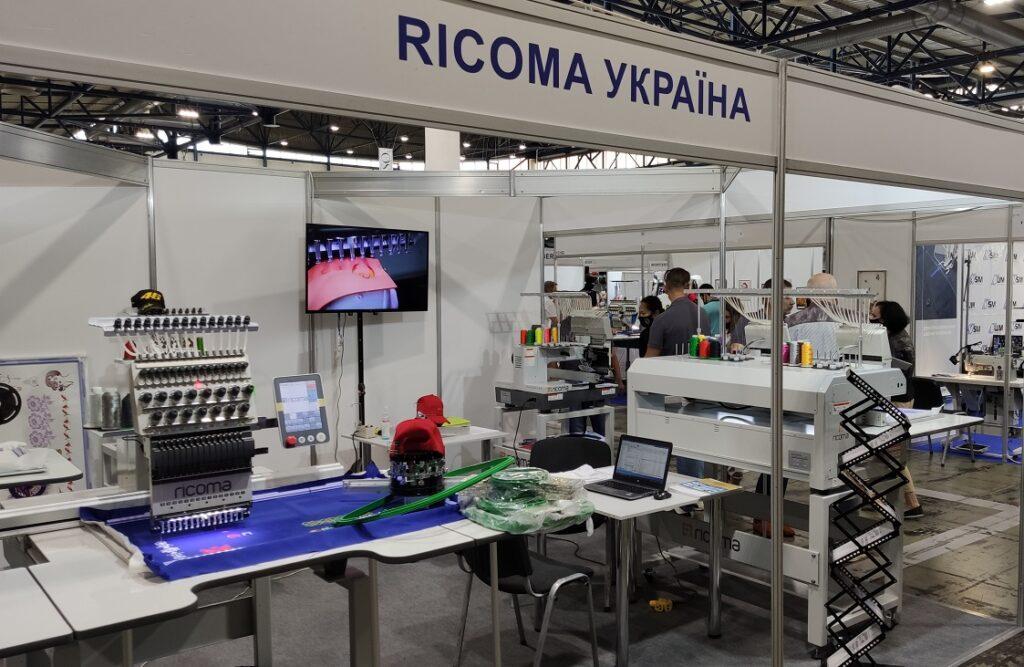 Рікома-Україна на виставці вишивальних машин
