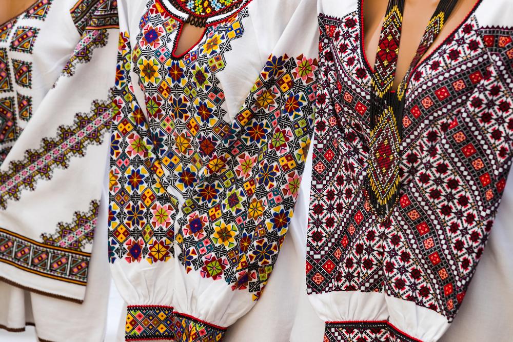 орнаменти української вишивки, украінська вишиванка